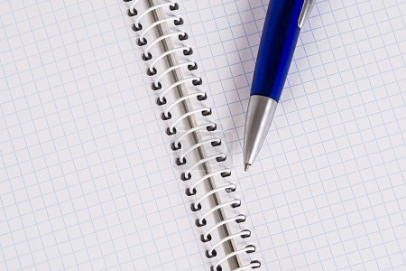 Copybook and a pen