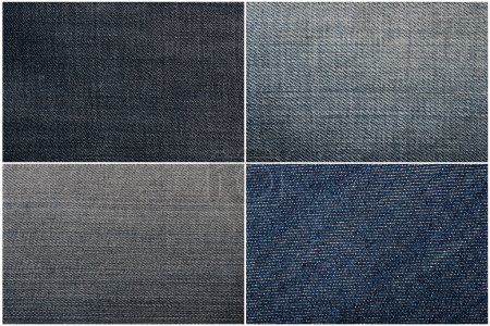 Close up jeans texture