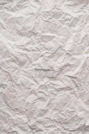 Photo pour Fermer texture de papier froissé - image libre de droit