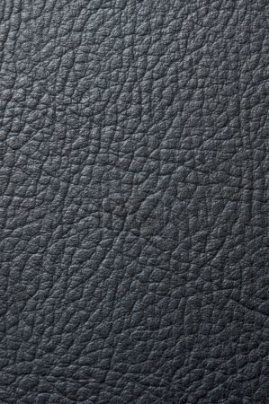 Photo for Close up black leather texture - Royalty Free Image