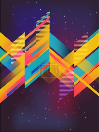 Illustration for Vector abstract background - Royalty Free Image