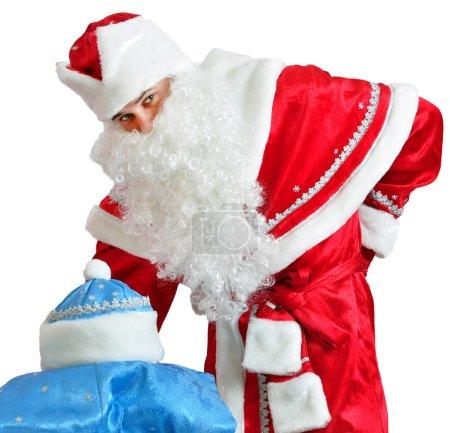Santa Claus and Snow Maiden costume