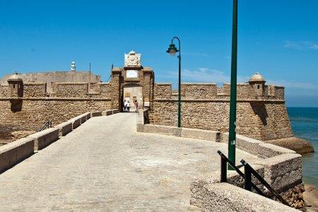 Fortress of San Sebastian Cadiz