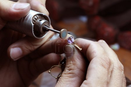 réparation d'anneau