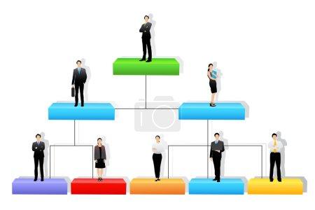 Vector Organisation Tree