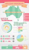 Infographic Elements - Sample Holiday Program