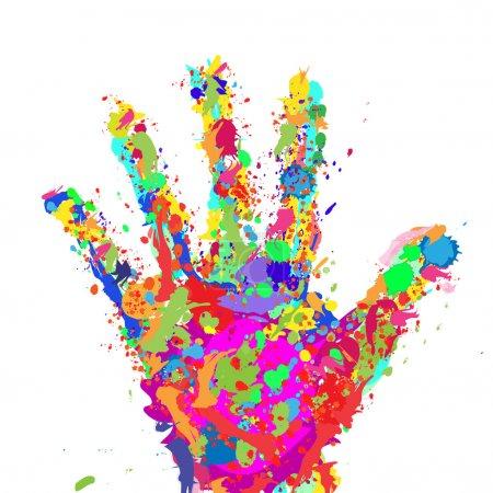 Hand Color Spots