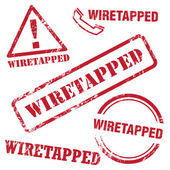 Wiretapped Stamp