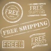 Free Shipping Stamp Set