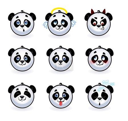Smileys pandas