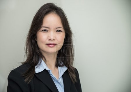 Portrait of woman in business suit