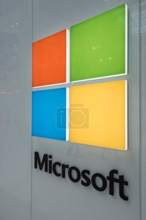 Large Microsoft Corporation logo