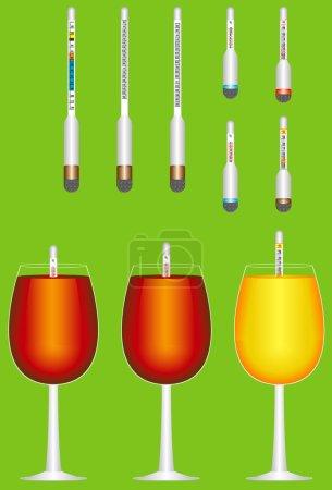 Glass hydrometers