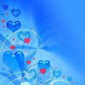 Valentýna modrá textura