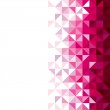 Abstract, geometric background, triangle and squar...