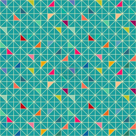 Illustration for Seamless geometric pattern - Royalty Free Image