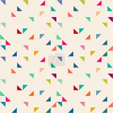 Ilustración de Patrones geométricos sin fisuras - Imagen libre de derechos