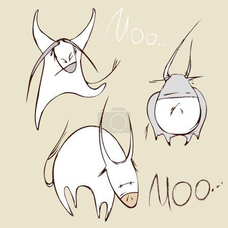 Funny bulls