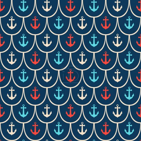 Seamless anchor pattern