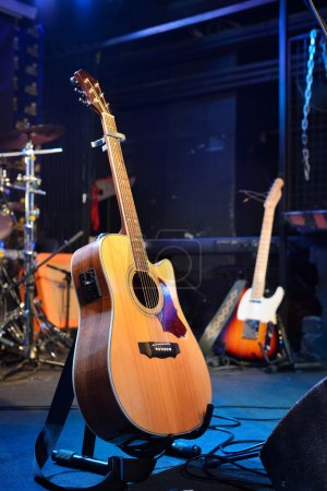 Guitars and other musical equipment