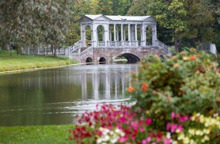 Marble Bridge. Catherine Park. Tsarskoye Selo