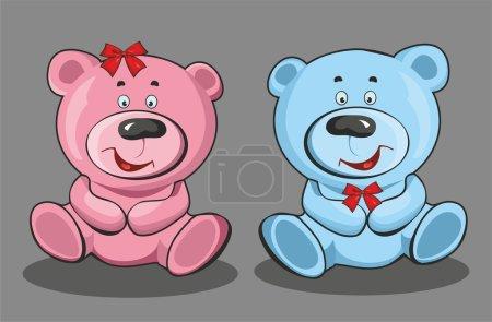 Teddy (boy and girl)