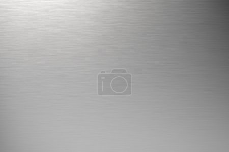 Photo for Brushed metal background - Royalty Free Image