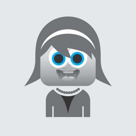 Avatar portrait icon picture