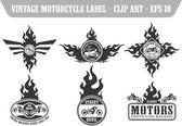 Motor label set