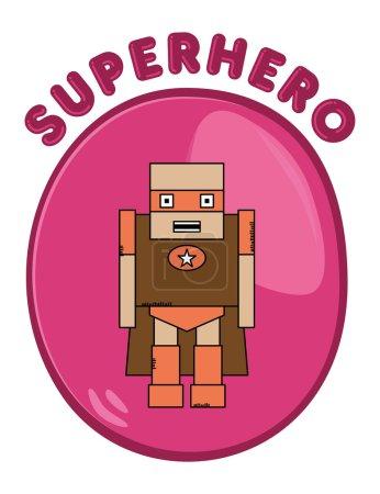 Cartoon hero
