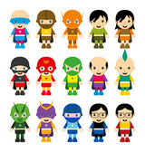 Amazing cartoon superhero pack
