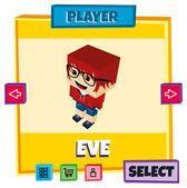 Game hero player select