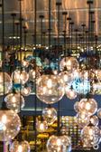 Abstraktní lampy světla bokeh