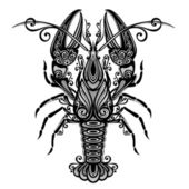 Vector Sea Lobster Patterned design