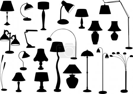 Lamps Silhouette