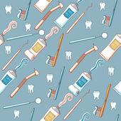 Bezešvé pozadí zubní