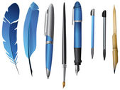 Paint and writing tools collection