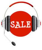 Call center - sale icon