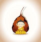 Buddha Cartoon Vector