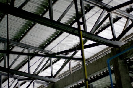 Photo for Roof structure - Royalty Free Image
