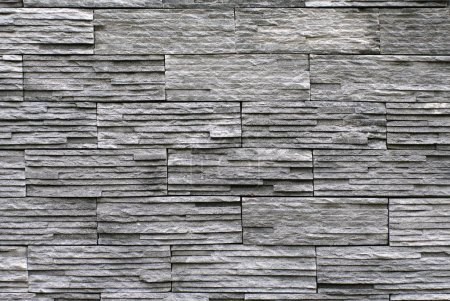 slate stone stack wall texture