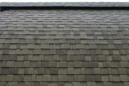 Photo pour Toit d'asphalte avec toiture structure incurvée - image libre de droit