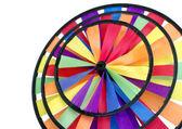 rainbow windmill isolated