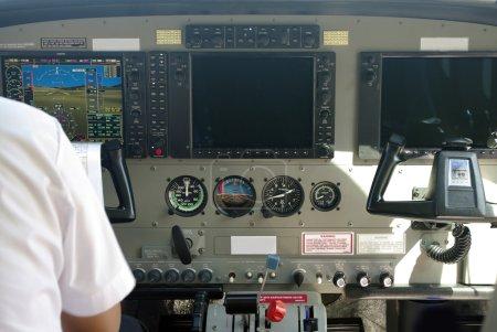 Air plane console