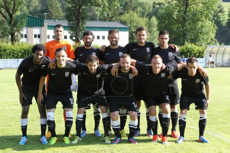 PAOK team before the friendly match Anzi vs PAOK