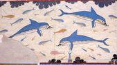 """Постер, картина, фотообои """"Фреска на стене Кносского дворца. Крит, Греция."""""""