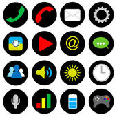 Smart phone Icons vector illustration