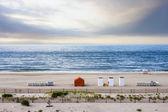 Beach at sunrise, Cape May, New Jersey, USA