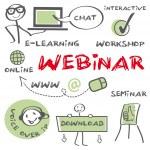 Webinar, interactive, education, computer, e-learn...