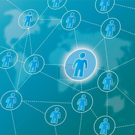 Social network, viral marketing
